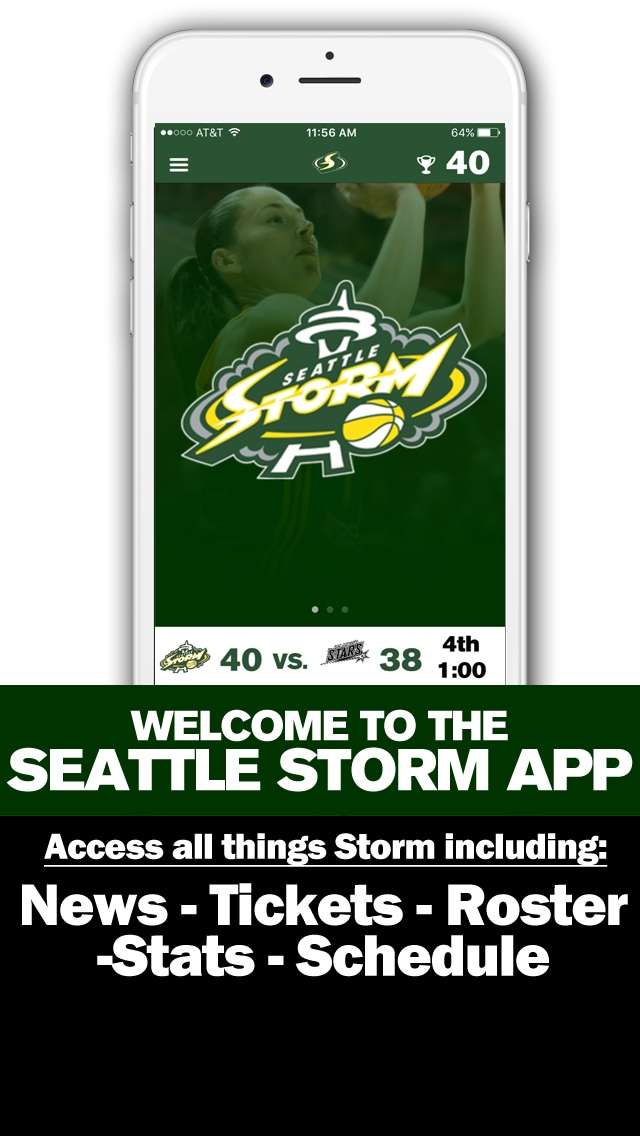 Welcome to the Seattle Storm App