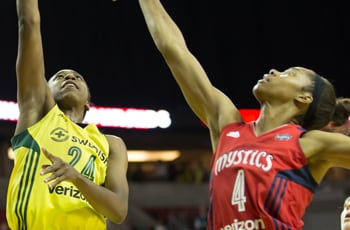 vs. Washington Mystics