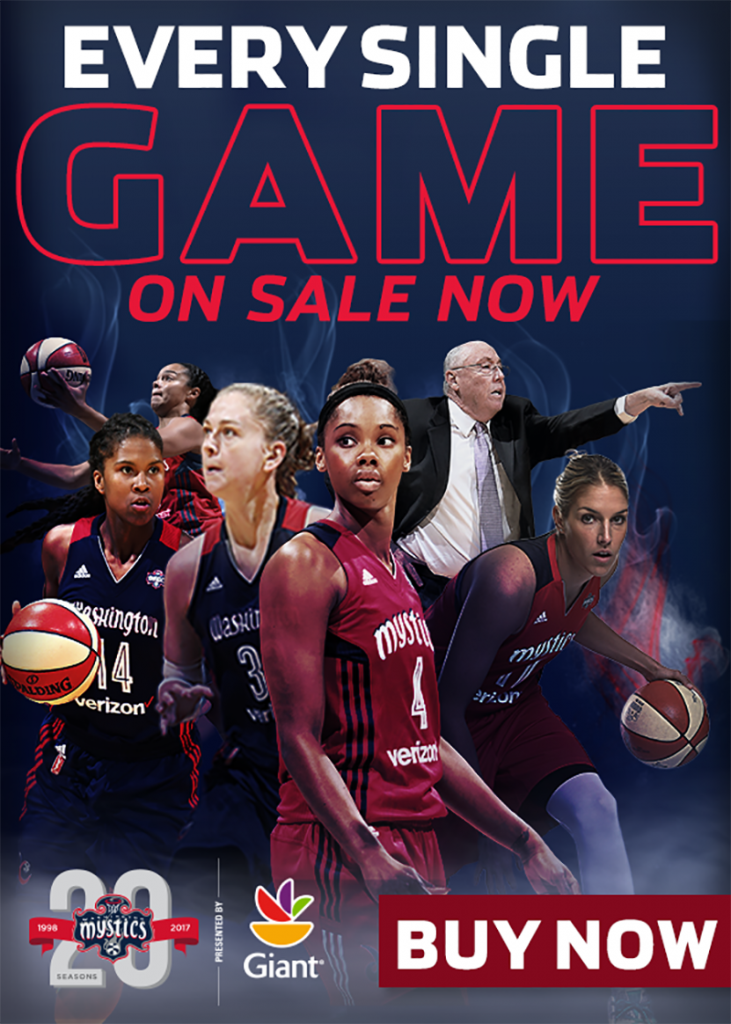 mystics single game tickets