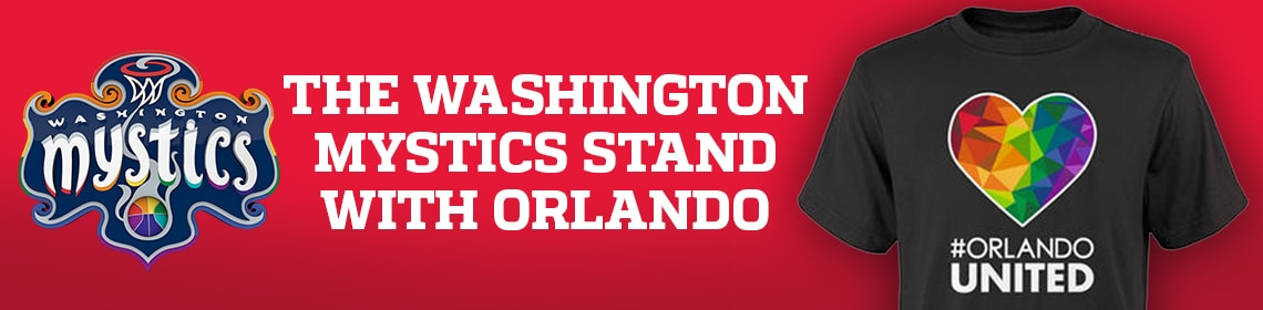 Mystics Stand WIth Orlando Auction
