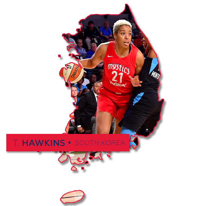 Tianna Hawkins South Korea