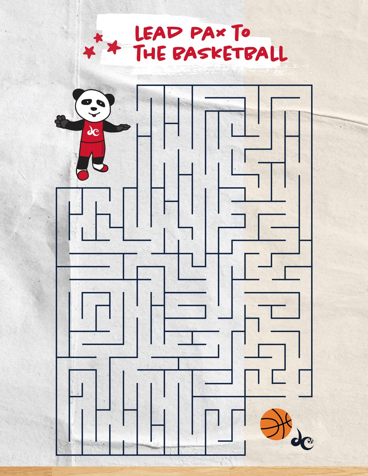 basketball maze
