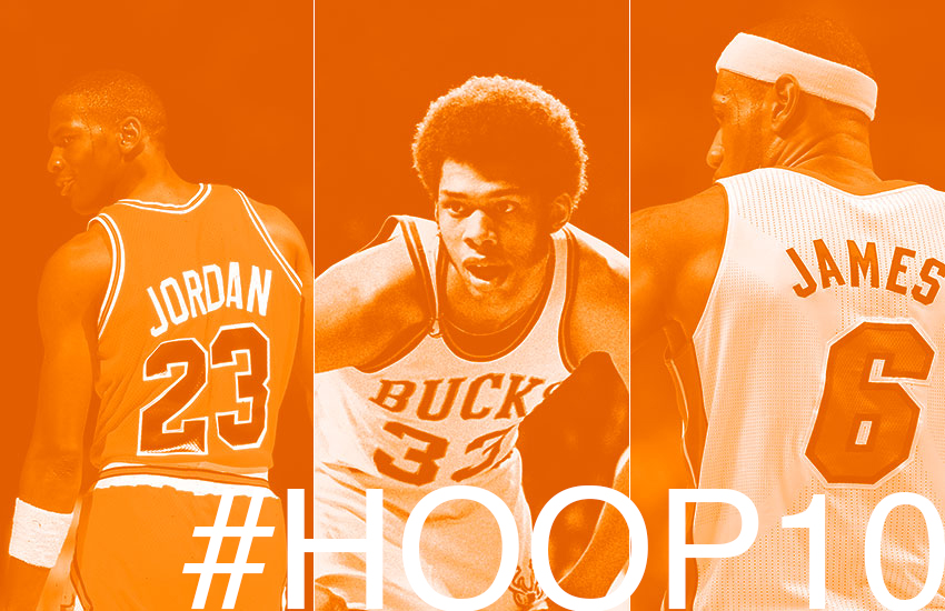#HOOP10 Introducing our democratic dive into the top 10 greatest NBA seasons of all time.
