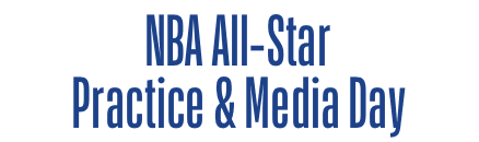 NBA All-Star Practice & Media Day