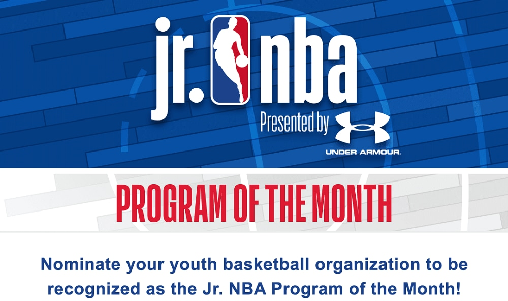 Jr. NBA Program of the Month