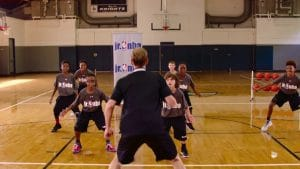 Watch Jr. NBA Coach Jeremiah Boswell add some extra fun to defensive practices with the Coach Says Drill to work on different techniques.