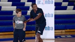 Watch NBA legend Isiah Thomas explain the right defensive positioning to prevent ball movement with the fundamentals of denying the pass.