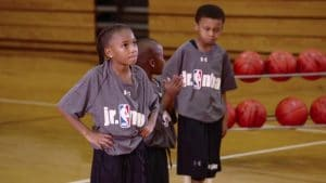 Watch WNBA legend Kiesha Brown teach the right movements on offense to create better teamwork with this pass and cut drill.