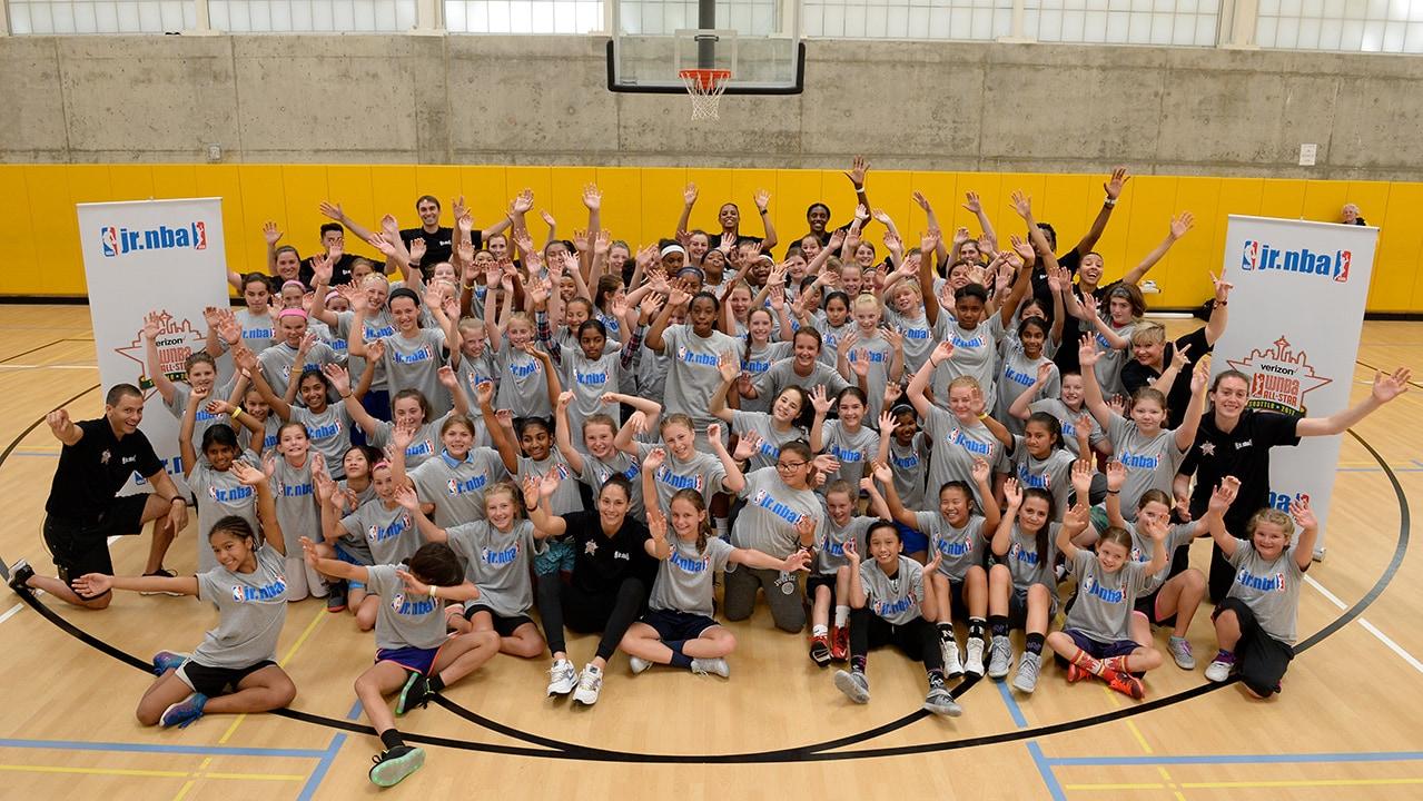 Jr. WNBA Week 2018