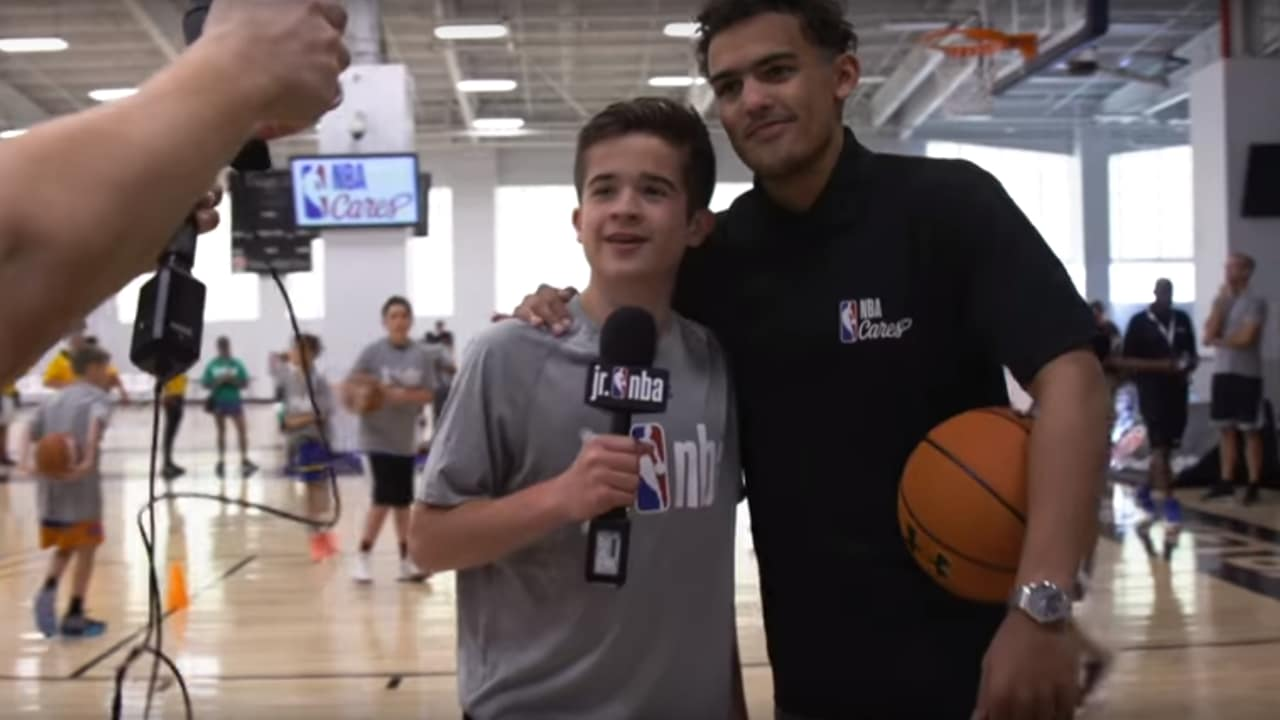 Max Bonnstetter at Jr. NBA Draftees Clinic