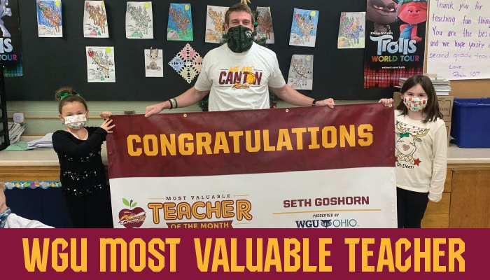 WGU Teacher of the Month