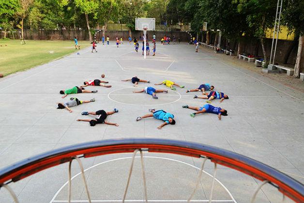 Montfort School: A Basketball Oasis In Delhi