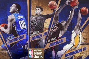 Above The Rim: Gordon, Jordan Among Leading Contenders At 2017 Slam Dunk  Contest