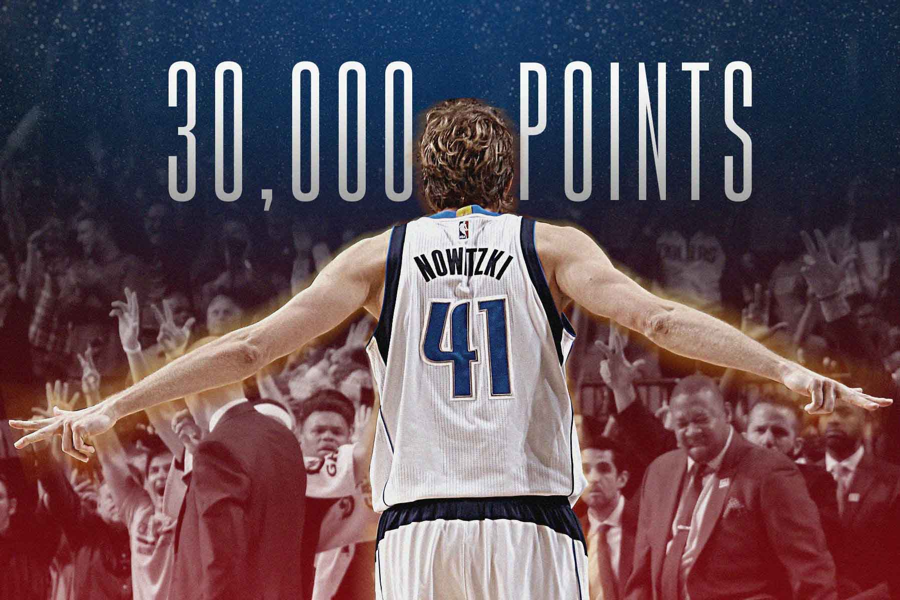 Nowitzki In Elite Company, Passes 30K Career Points Landmark