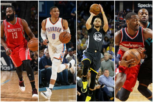 Curry From Way Downtown, Scintillating Harden And Westbrook's Dime Dominate Sunday's Best