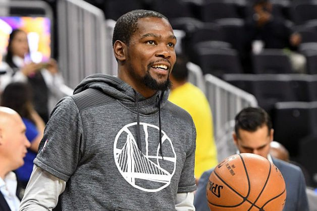 Warriors' Kevin Durant Working Out, Will Join Team On Road Trip