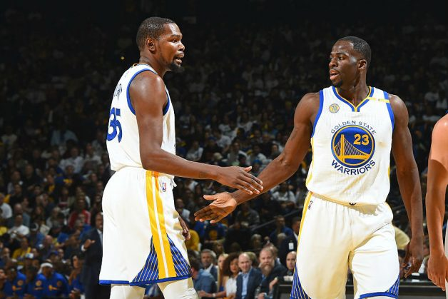 Green, Warriors 'Relieved' Durant Injury Not Worse