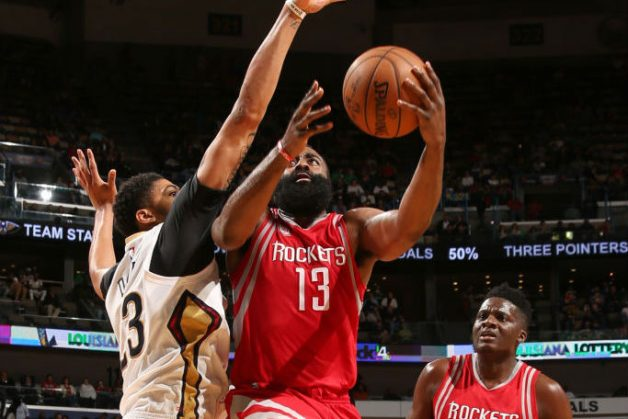 Harden Has 41-14-11 But Rockets Fall In New Orleans; Giannis Shines As Bucks Top Lakers