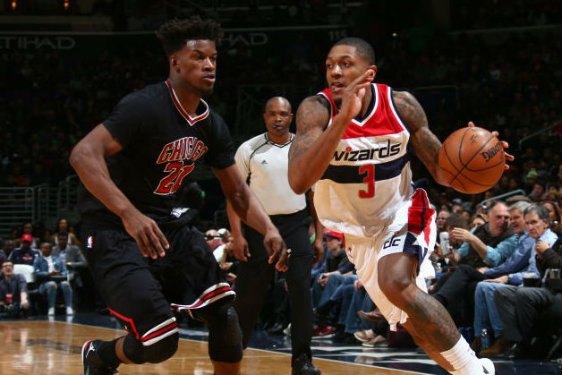 Wizards Survive Furious Bulls Comeback; Raptors Exploit Pistons' Fourth Q Collapse