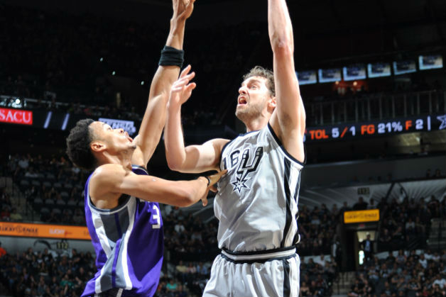 Ageless Pau Gasol Helps Spurs Top Kings; The Brow Stars For Pelicans