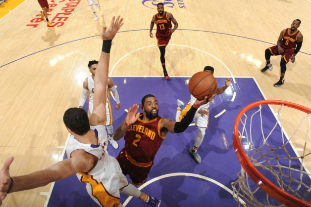 Kyrie, LeBron Knockout Lakers; Lillard Torches Heat With Season-High 49