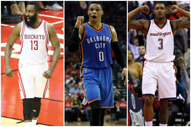 Harden Euro-Steps All Over Thunder Despite Westbrook's Big Day Out In Thursday's Best Plays