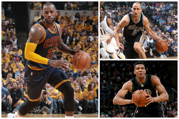Stats Domination: LeBron Surpasses Kobe, Climbs Playoff Rebounding List; Ginobili Hits 200