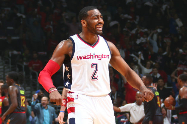 East RD 1: Wall, Wizards Clip Hawks To Take Game 2