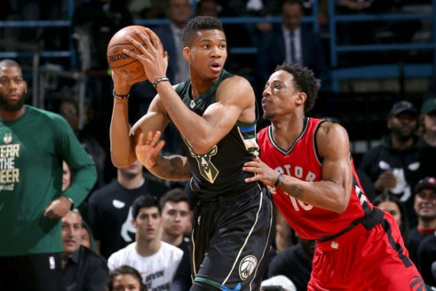 East RD 1: Giannis, Bucks Thrash Raptors By 27 For 2-1 Series Lead