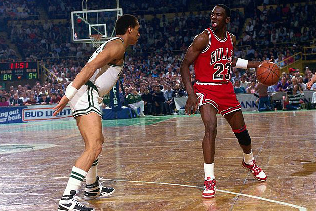 A Legacy Is Born: Michael Jordan Roasts Celtics For All-Time NBA Playoffs Scoring-High