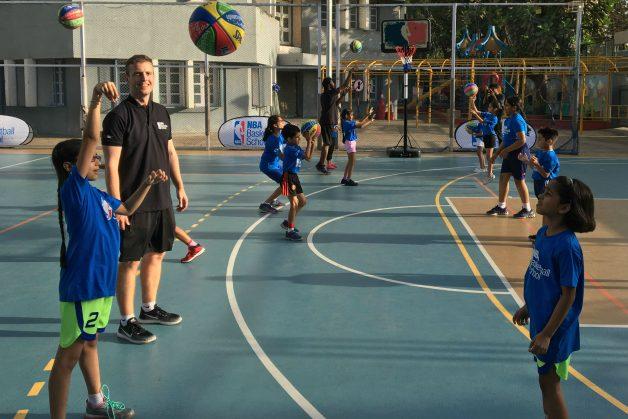 NBA Launches International Basketball Schools Network In Mumbai