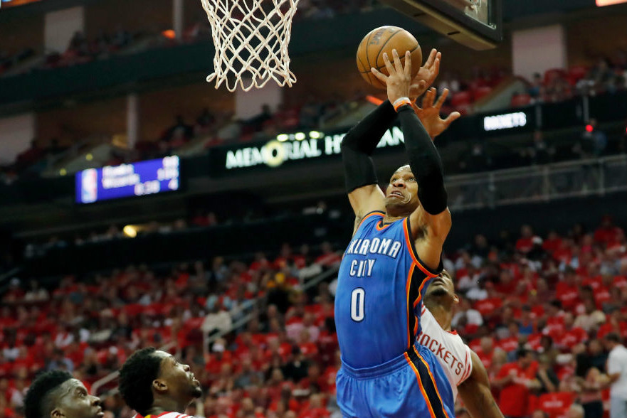 Super Stats: Russell Westbrook's Historic Playoff Night Dominates, Curry Makes Some Franchise History