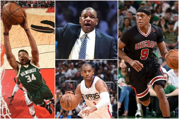 Records Tumble: Freakish Giannis; Playoff Rondo; Doc Rivers Rises In Standings