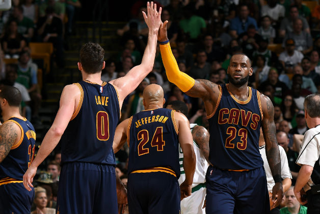 East Finals: LeBron, Love Combine For 70 As Cavs Dominate In Game 1 Win Over Celtics