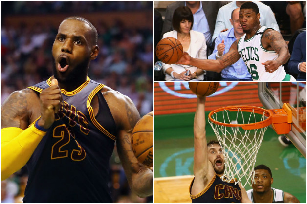 Relive Thursday's Best: LeBron Puts Skills On Display, Love Soars And Smart Gets Nasty