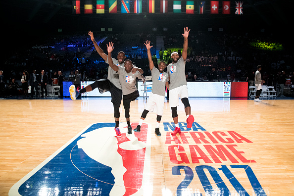 NBA Stars Showcase Talents In Exhibition To Cap Week Of Goodwill In Africa