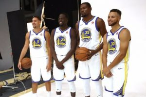 One Thing Is Certain, The Golden State Warriors Are Strong Favourites To Win Third Title In Four Years