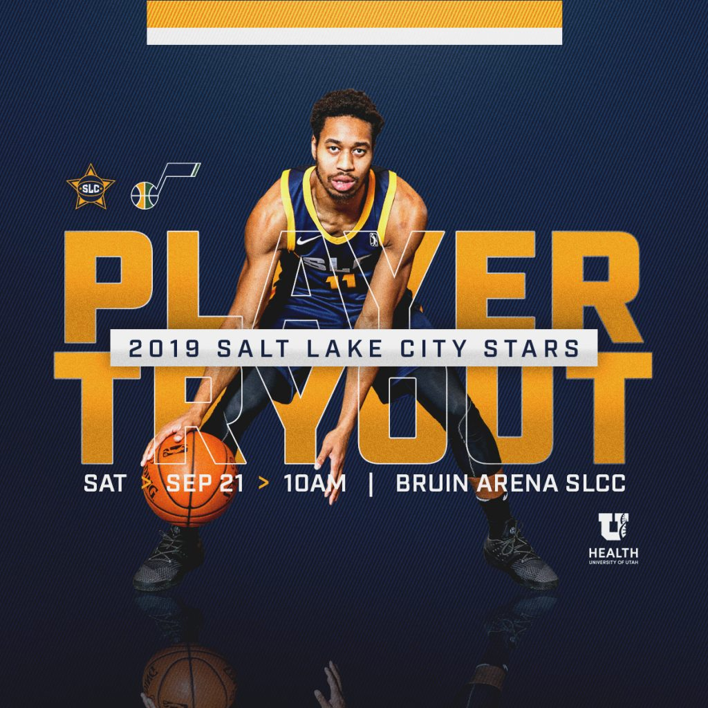 SLC Stars 2019 Open Tryouts Basketball