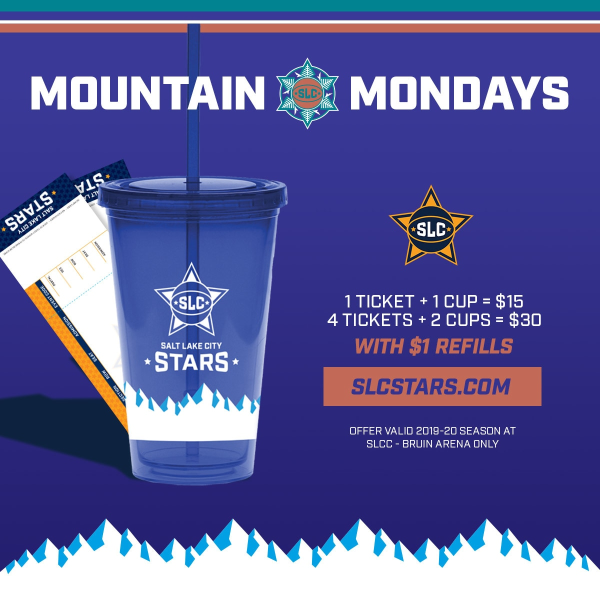 SLC Stars Mountain Mondays