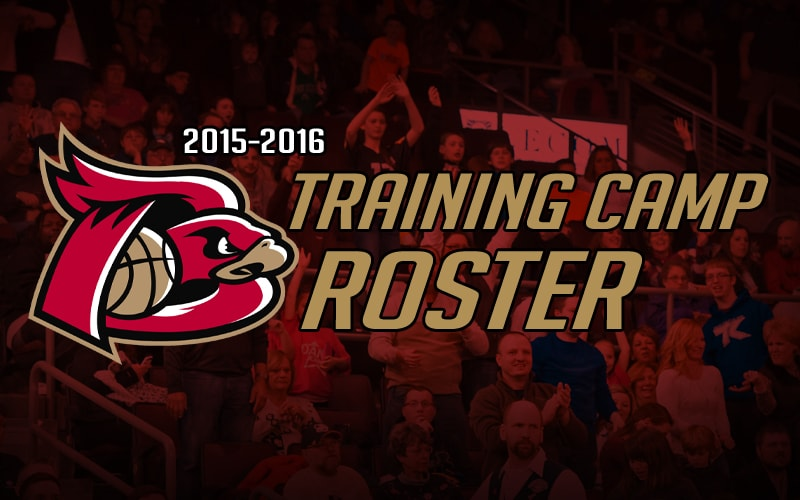 training camp banner