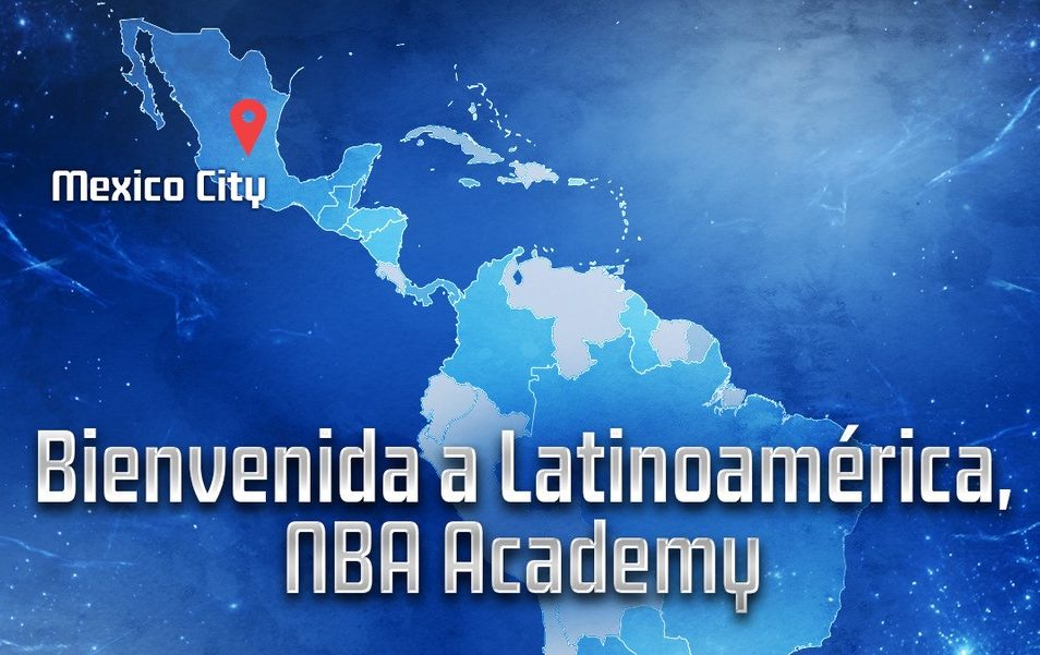 DECEMBER 7, 2017: NBA, CONADE AND MEXICAN BASKETBALL FEDERATION ANNOUNCE PLAN TO LAUNCH THE NBA ACADEMY LATIN AMERICA