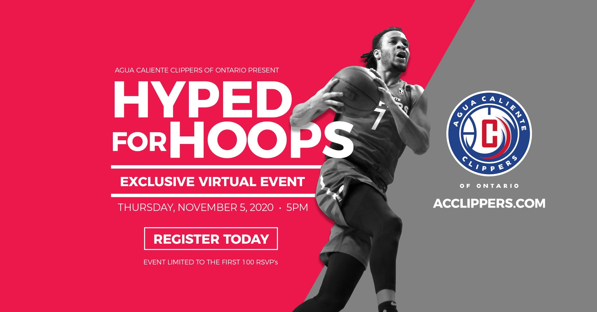AC Clippers Hyped For Hoops Virtual Sales Event