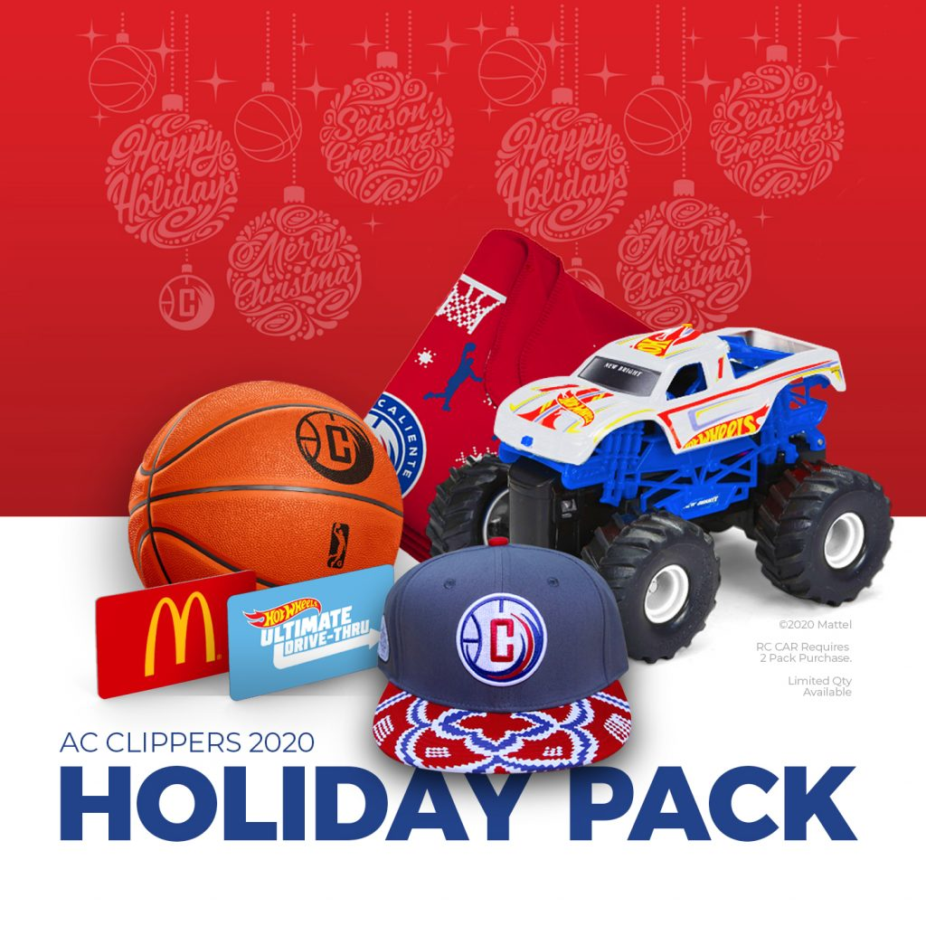 AC Clippers 2020 Holiday Pack Offer