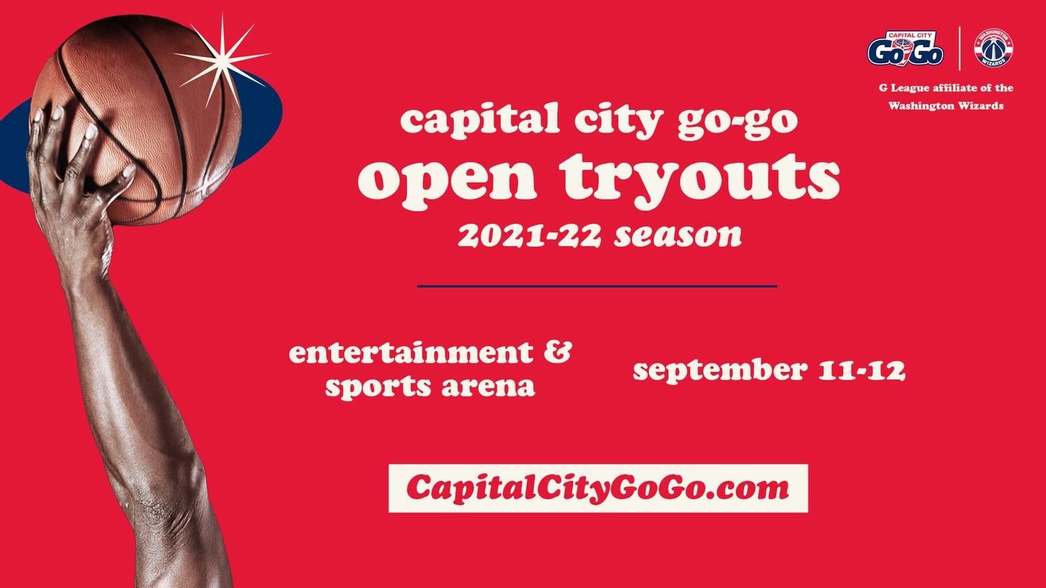 Capital City Go-Go Tryouts