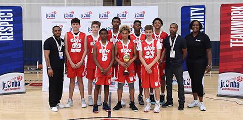ORANGE COUNTY, CA: Elite SC and California Storm won the Jr. NBA Championship West Regional tournament.