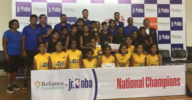 Champions Crowned at Jr. NBA World Championship India Regional