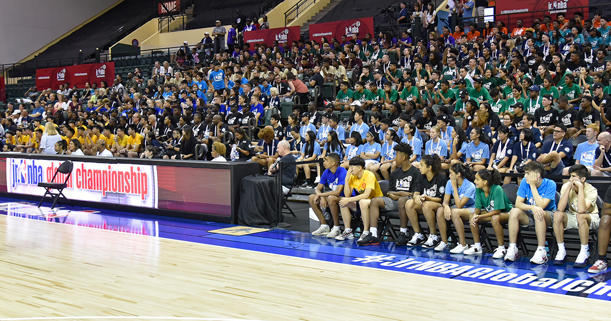 Jr. NBA Global Championship Opening Ceremony Brings the World Together