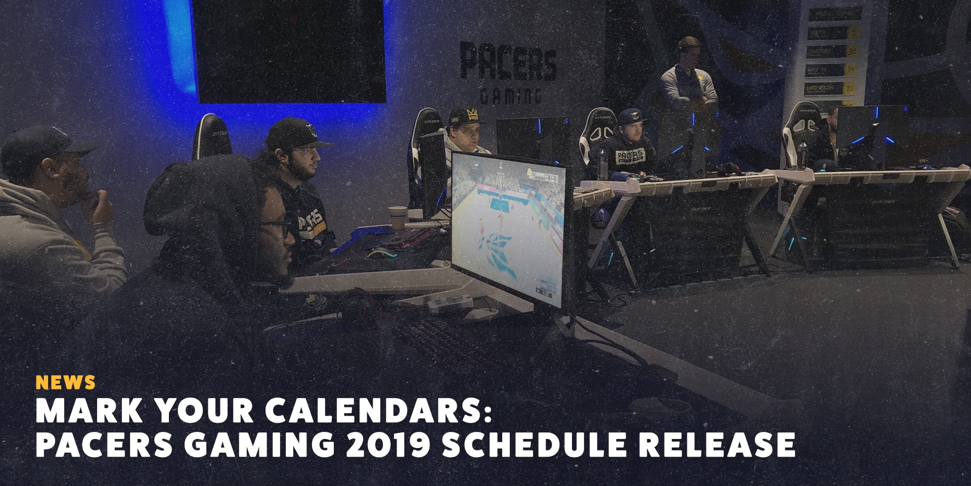 Pacers Gaming Schedule Release