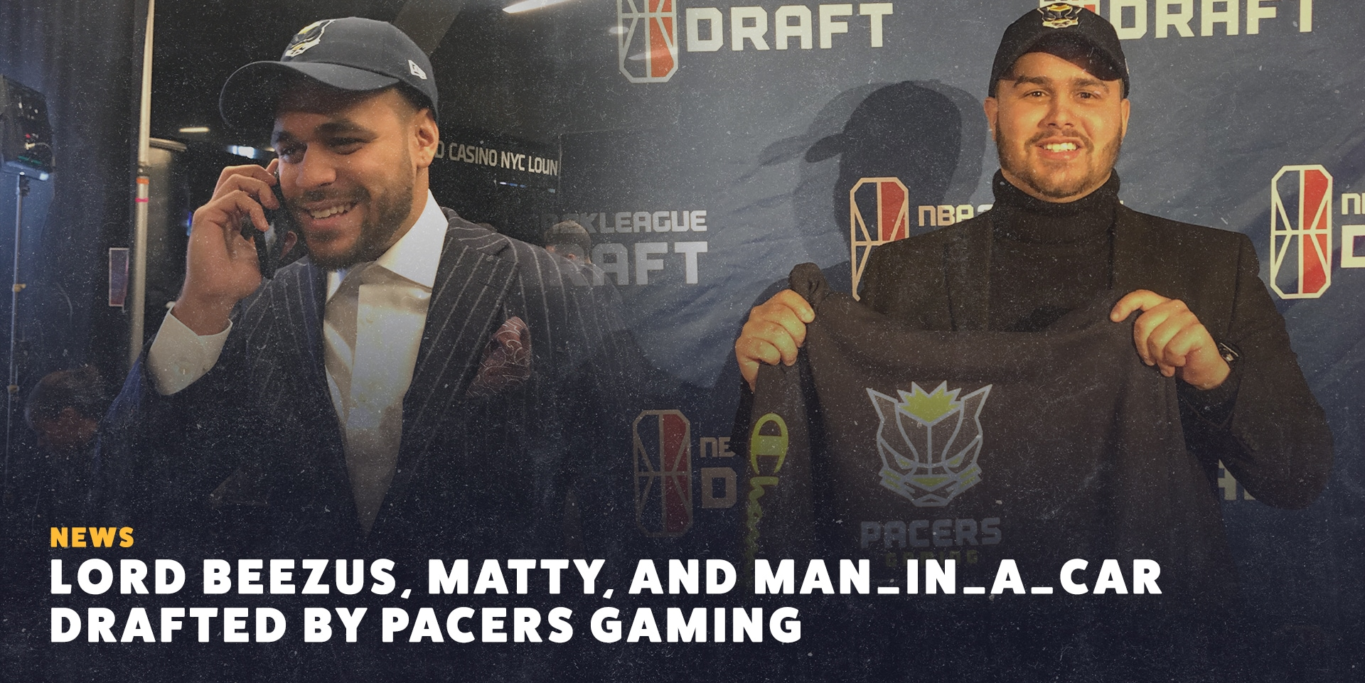 Pacers Gaming Drafts New Players