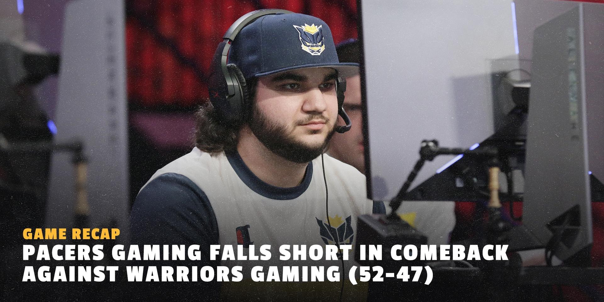 Week 7 Warriors Gaming Recap